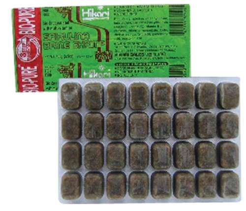 Hikari Frozen Spirulina Brine Shrimp 3.5oz – PICK UP ONLY